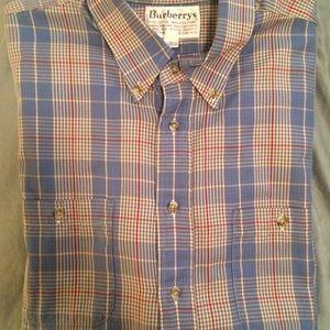 men's Burberry XL Dress shirt